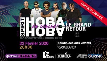 Hoba Hoba Spirit en Concert à Casablanca / Annulé