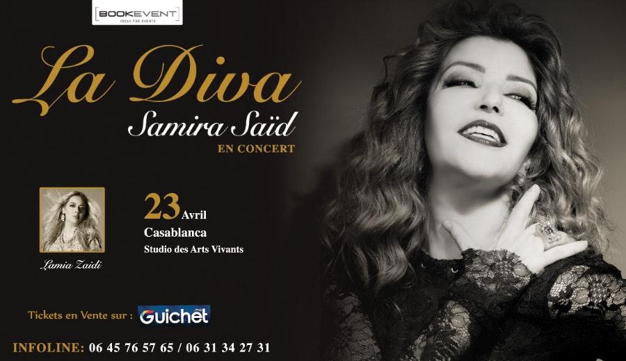 Samira Saïd en Concert à Casablanca