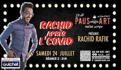 Rachid après L'Covid / Séance 2