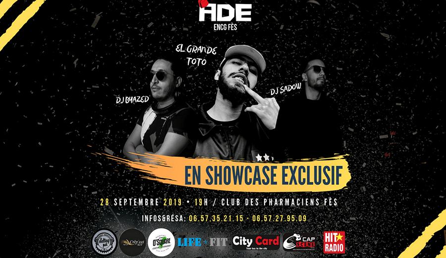 Showcase Exclusif : Grande TOTO DJ Byazed & DJ Sadow