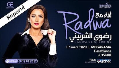 Radwa El Sherbiny à Casablanca / Reporté