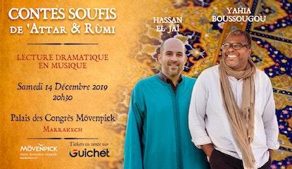 CONTES SOUFIS de 'ATTÂR & RÛMI à Marrakech