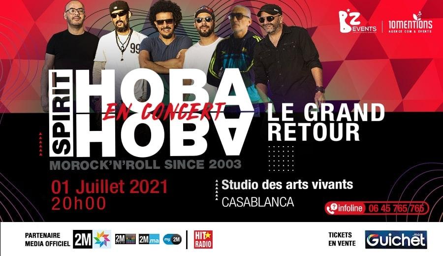 Hoba Hoba Spirit en Concert à Casablanca / 01 Juillet
