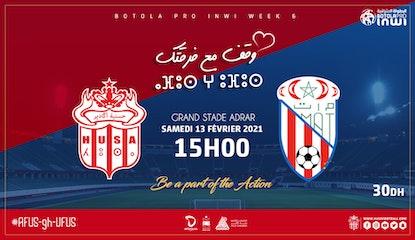 Hassania d'Agadir vs Moghreb de Tetouan