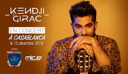 Kendji Girac à Casablanca