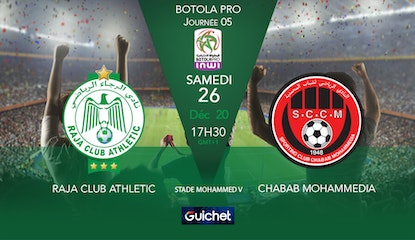 Raja Club Athletic VS Chabab Mohammedia