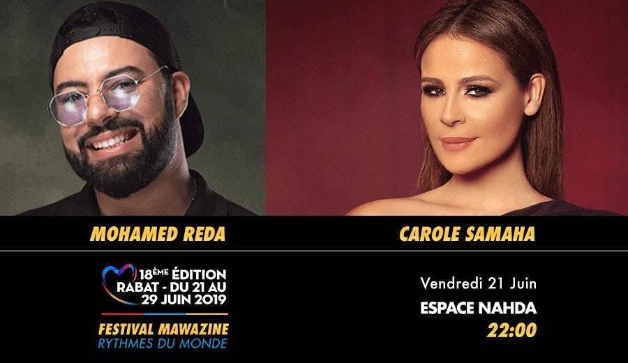 Festival Mawazine - Mohamed Réda & Carole Samaha