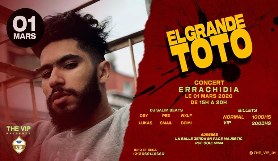 Showcase ElGrande Toto a Errachidia