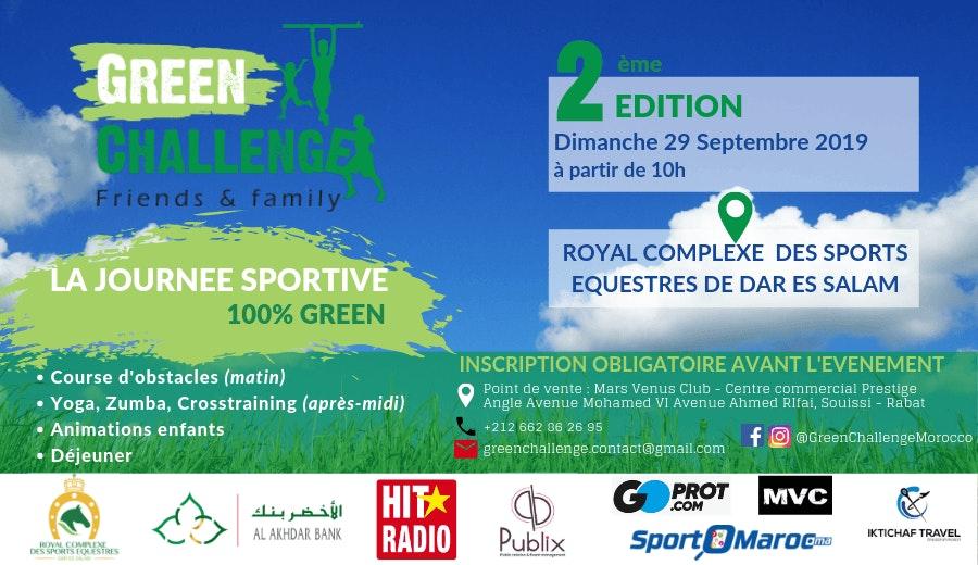 Green Challenge - 2ème édition