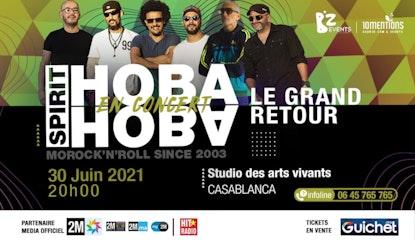 Hoba Hoba Spirit en Concert à Casablanca / 30 Juin