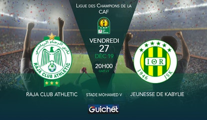 Raja Club Athletic VS Jeunesse de Kabylie