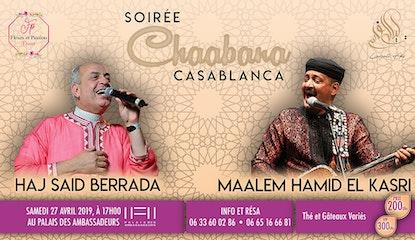 Soirée Chaabana avec Haj Said BERRADA & Maalem Hamid EL KASRI