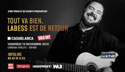 Labess en Concert exclusif à Casablanca