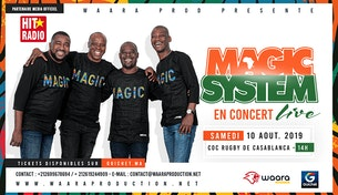 Magic System en Concert à Casablanca