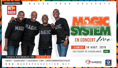 Magic System en Concert à Casablanca