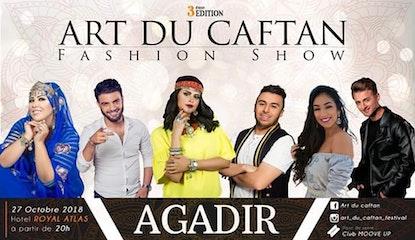 3éme édition Festival Art du Caftan fashion show Agadir
