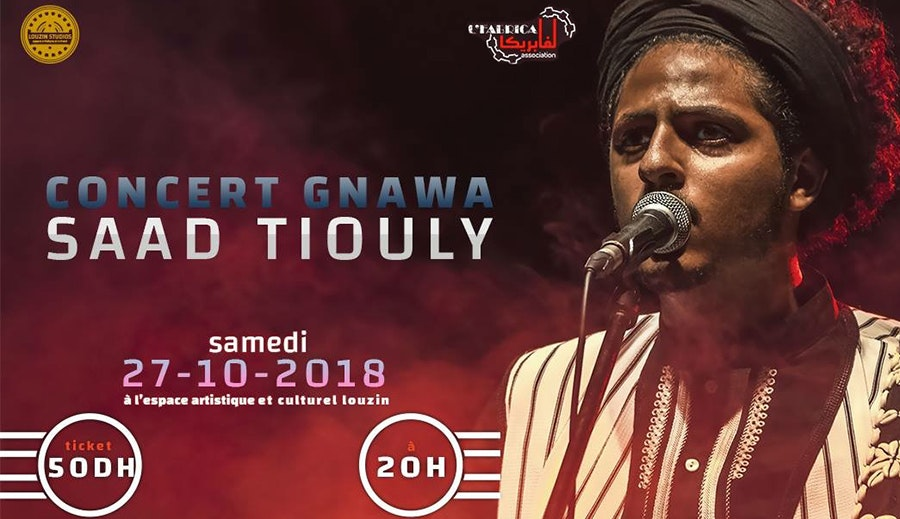 Le grand concert Gnawa avec L'm3alem SADD TIOULY
