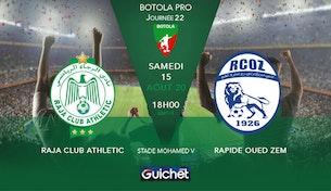 Raja Club Athletic VS Rapide Oued Zem