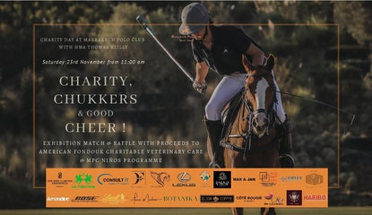 Charity , Chukkers & Good Cheer !