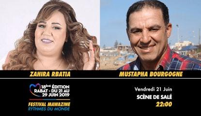 Festival Mawazine -Zahira Rbatia & Mustapha Bourgogne