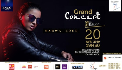Marwa Loud à Casablanca au Grand Concert