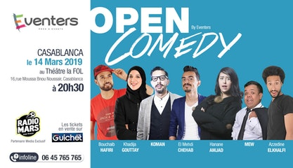 Open Comedy 3 - Saison 1