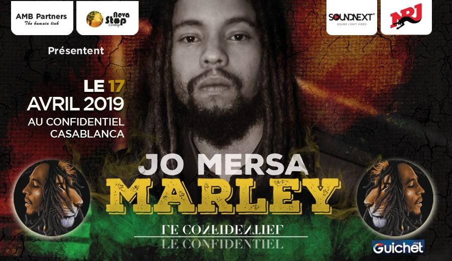 Jo Mersa MARLEY à Casablanca / 17 Avril