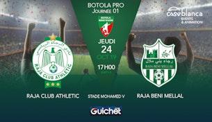 Raja Club Athletic VS Raja Beni Mellal