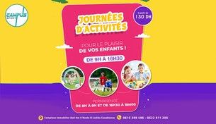 Journées d'Activités pour le plaisir de vos Enfants