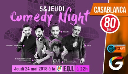 5&JEUDI COMEDY NIGHT