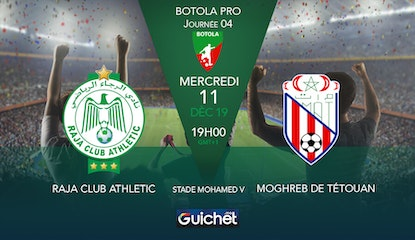 Raja Club Athletic VS Moghreb de Tétouan