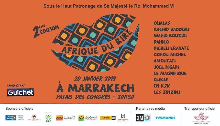 Festival Afrique du rire - GALA de Marrakech
