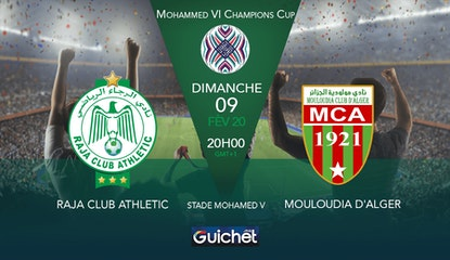 Raja Club Athletic VS Mouloudia Club d'Alger