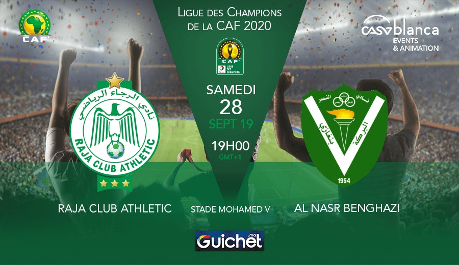 Raja Club Athletic VS Al Nasr Benghazi