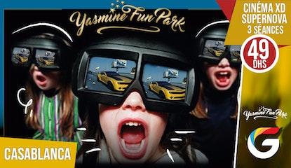 Yasmine Fun Park : Offrez vos enfants des expériences amusantes avec le nouveau cinéma XD supernova !