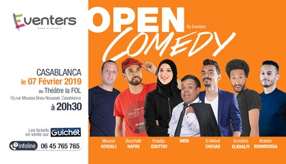 Open Comedy 2 - Saison 1