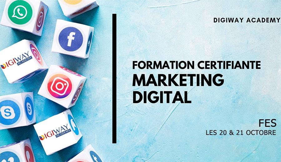 Formation Certifiante en Marketing Digital - Session FES