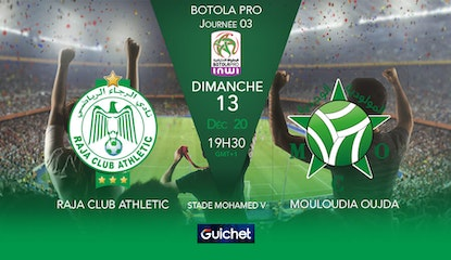 Raja Club Athletic VS Mouloudia Club d'Oujda