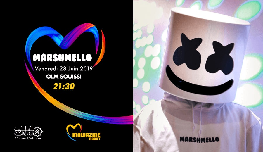 Festival Mawazine - MARSHMELLO