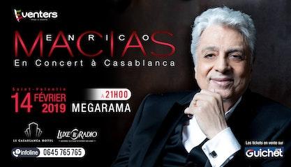 Enrico Macias à Casablanca