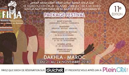Package du 11e édition de Festival International de la Mode en Afrique