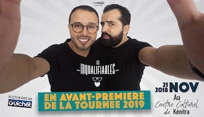 Les Inqualifiables en avant-première de la tournée 2019