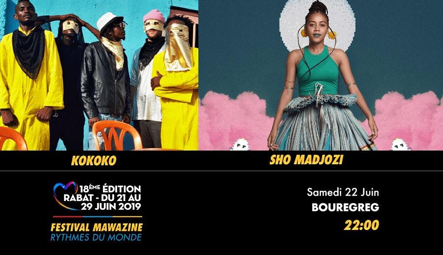Festival Mawazine - KOKOKO / SHO MADJOZI