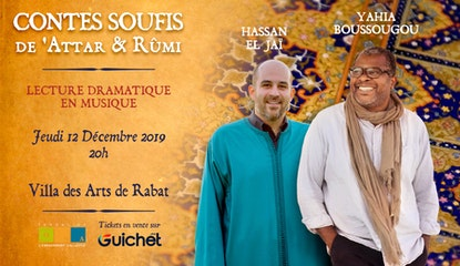 CONTES SOUFIS de 'ATTÂR & RÛMI à Rabat