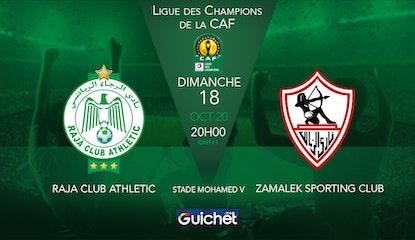 Raja Club Athletic VS Zamalek Sporting Club