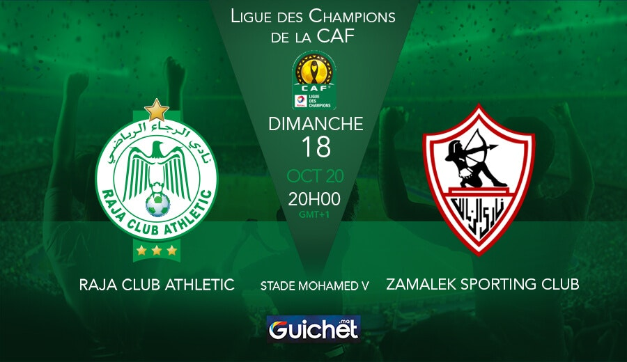 Raja Club Athletic VS Zamalek Sporting Club