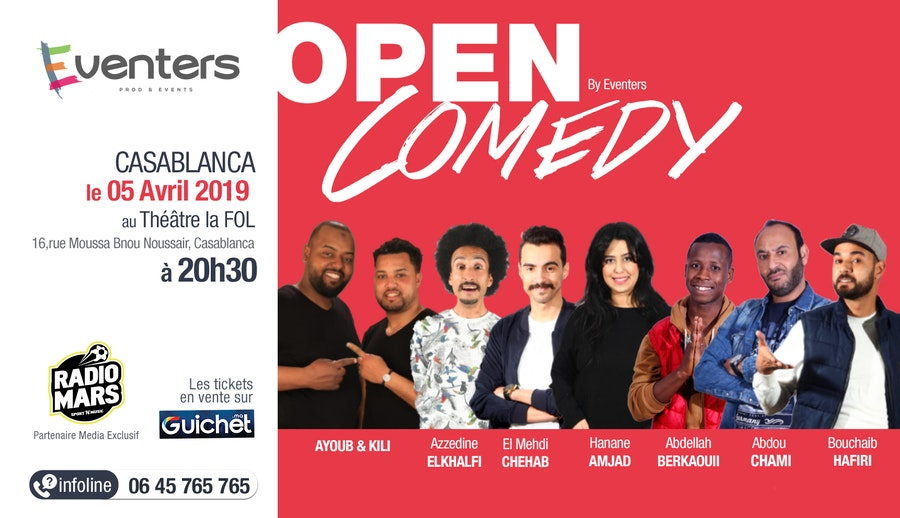 Open Comedy 4 - Saison 1