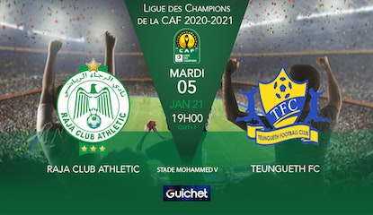 Raja Club Athletic VS Teungueth FC