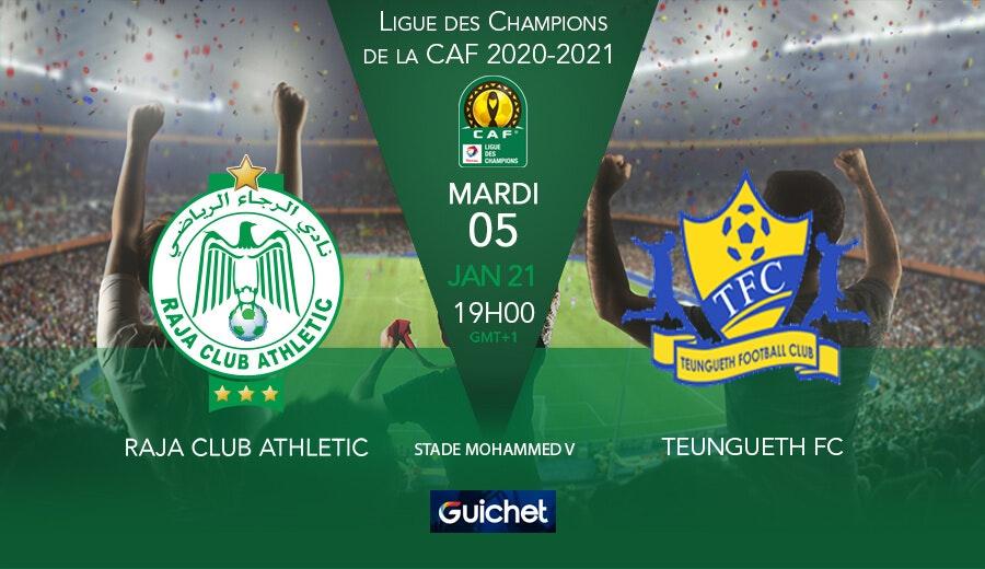 Raja Club Athletic VS Teungueth FC