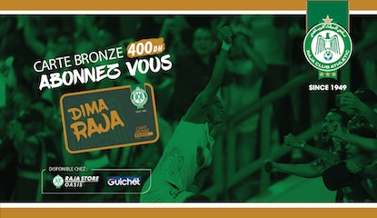 Raja Club Athletic - La Carte BRONZE